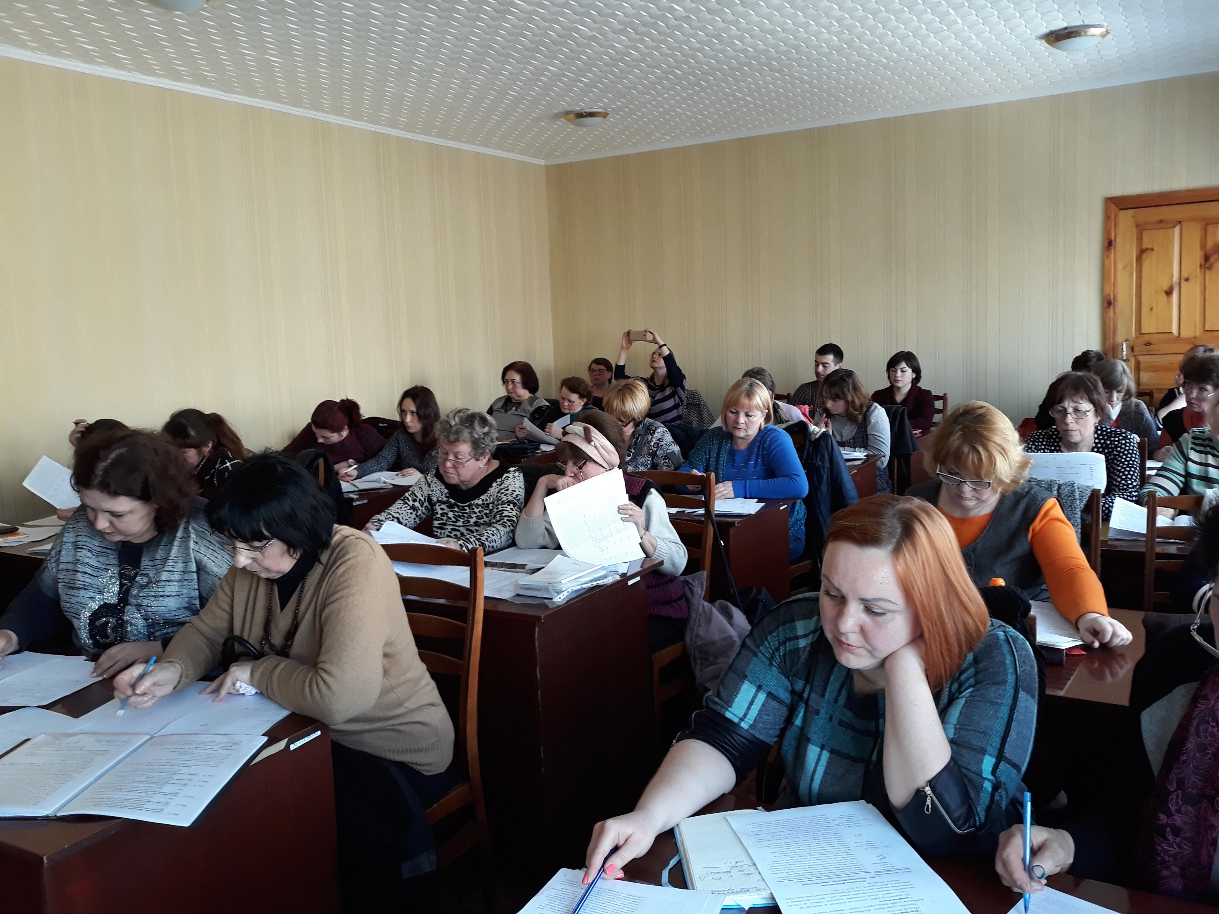 5 квітня 2018 року на базі НМЦ ПТО у Харківській області відбулося засідання круглого столу